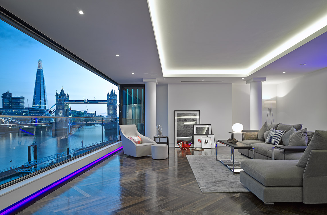Tower View, London – completed project.