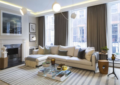 Craven Street refurbishment, London – completed project.